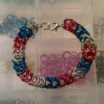 Patriotic Chanmaille Bracel..